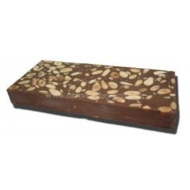 Turrón de Chocolate Con Leche Sin Azúcar 300 gr.