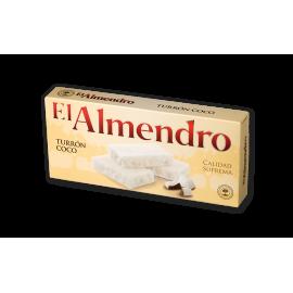 """Turrón de Coco """"El Almendro"""" 200 gr."""