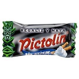Pictolín Regaliz y nata sin azúcar 1 kg.