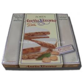 "Torta Imperial con Almendras Sin Azúcares Añadidos ""Antiu Xixona"" 200 gr."