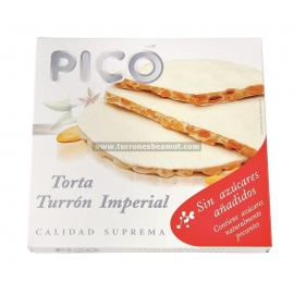 "Alicante nougat cake with no added sugar ""Picó"" 150 gr."
