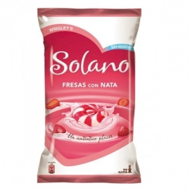 Solano Fraises à la crème 900 gr.