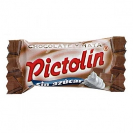 Pictolín Chocolate and cream without sugar 1 kg.