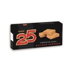 """Jijona nougat  """"25 """" 250 gr."""
