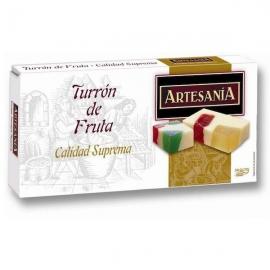 """Nougat aux fruits """"Artesanía"""" 200 gr."""