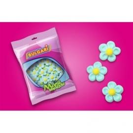 "Marshmallow Flowers Blue ""Bulgari"""