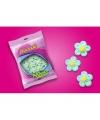 """Marshmallow Blumen Blau """"Bulgari"""""""