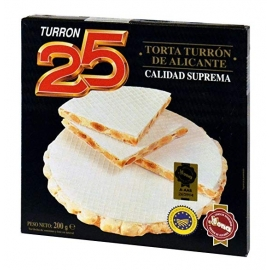 Torta Turrón  de Alicante 200 gr.