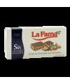 """Turrón de Chocolate con Almendras Sin azúcares añadidos 200 gr. """"La Fama"""""""