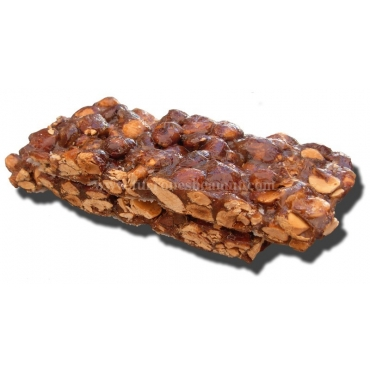 Caramelized Almond Nougat 300 gr. 2 Tablets