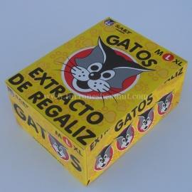 """Extracto de Regaliz """"L"""" (Gatos)."""