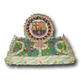 "Cake Marshmallows ""Soccer Field + Wafer"" Serie 2000"